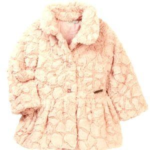 f86971937 Kids  Calvin Klein Faux Fur Coat on Poshmark